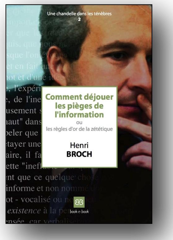 """Couverture """"Les Règles d'Or de la zététique"""" du Pr. Henri Broch 2008"""