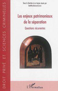 les-enjeux-patrimoniaux-de-la-separation-9782343098302