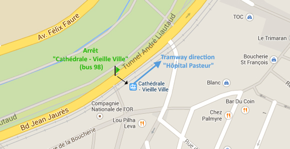 plan cathedrale tramway